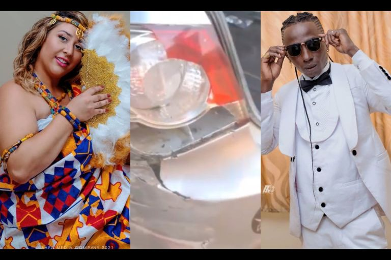 Patapaa And His Wedded Wife, Liha Miller, Reportedly Involved In A Car Accident
