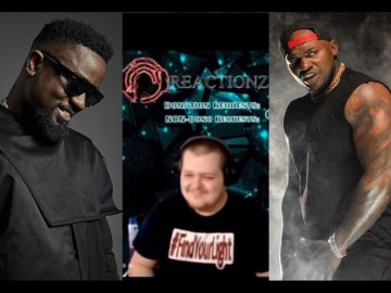 """VIDEOS: Sarkodie's Verse On Khaligraph Jones' Song, """"Wavy"""", Goes Viral As Music Reviewers Across The Globe Rate It High"""