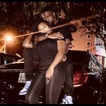 Sarkodie Grabs Tracy Sarkcess While They Pose With Their Mercedes Benz