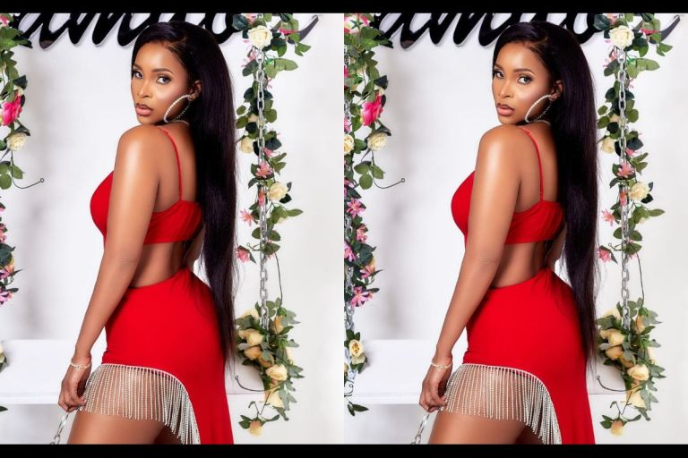 Benedicta Gafah Drops Pre-Valentine's Photo And Her Big As* Is Nowhere To Be Found