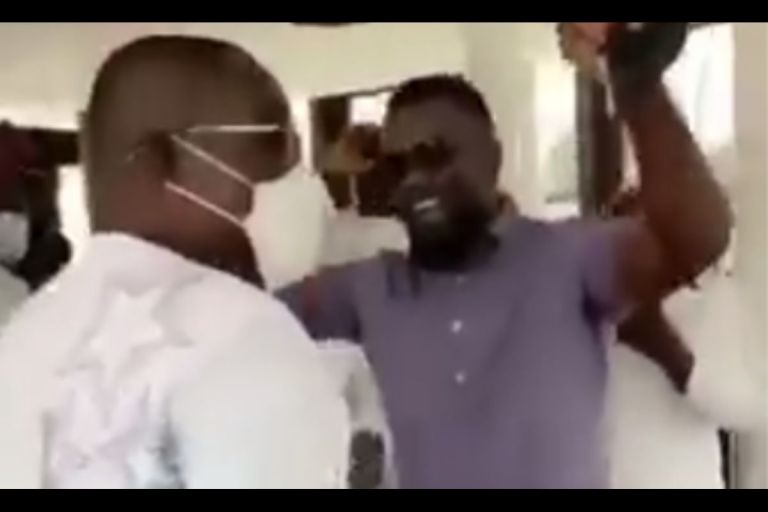 VIDEO: Sarkodie Performs His Political Song, 'Happy Day', For Dr Osei Kwame Despite As He Marks His 58th Birthday