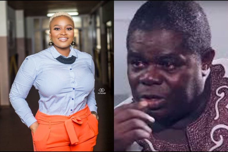VIDEO: MzGee Calls On Ghanaians To Save Ailing Veteran Actor, Sam Adjetefio Of Taxi Driver Fame