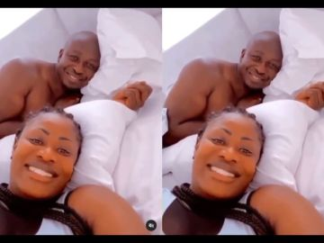 VIDEO: Fashionista, Nana Akua Addo, 'Reunites' With Her Cheating Husband As Valentine's Day Approaches