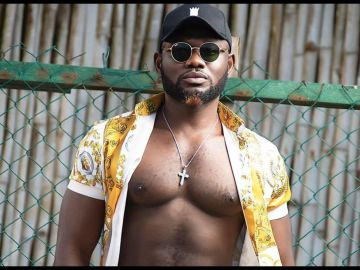 VIDEO: Prince David Osei Brags About Having A S*xy Body Despite Giving Birth To 3 Kids