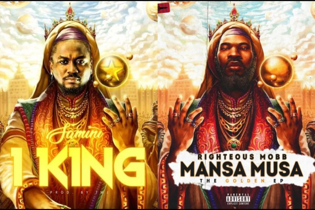 PHOTOS: Samini Drops Cover Art For His '1KING' Track And It's A 'Stolen' Cover Art