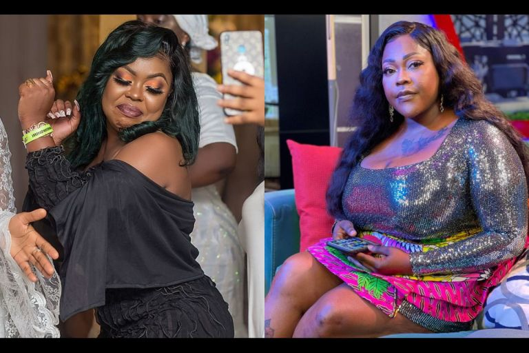 VIDEO: Afia Schwar Trolls Mona Gucci And Dares Her To Post Her Law Certificate And Graduation Pictures