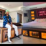 "PHOTOS: ""They Said Invest In Your Bed, So I Did"" - American Singer, Todrick Hall, Says As He Shows Off His Huge Custom Louis Vuitton Bed"