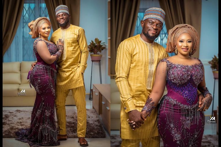 PHOTOS: Fatau Dauda Ties The Knot With His Beautiful Wife - We Wish Him Well