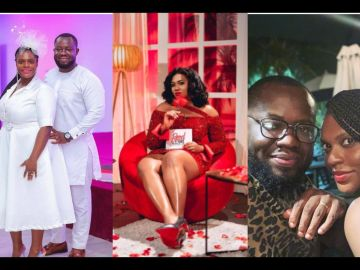 Here Are Photos Of Giovani Caleb's Busty Wife Who He Cheated On With Abena Korkor Addo