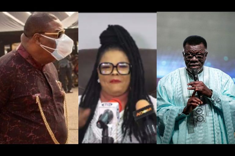 VIDEO: Nana Agradaa Gives Her Life To Christ And Joins Duncan Williams, Mensa Otabil, Dag Heward Mills In The Trillion-dollar Industry, Christianity