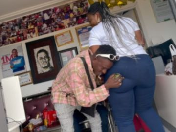 TV3 Date Rush: Ali Rests His Head On Shemi Brown's Huge B*tts In New Video