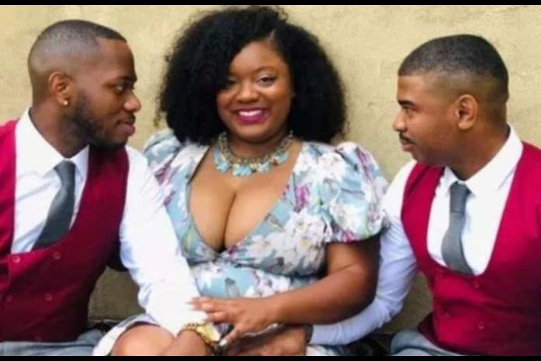 PHOTOS: Marrying Two Men Is Better - Beautiful Lady Says As She Flaunts Her Husbands