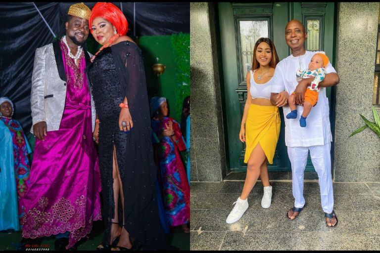 Regina Daniels Who's Married To A Man Older Enough To Be Her Great Grandfather Is Reportedly Not Happy About Her Mom Getting Married To A Young Man