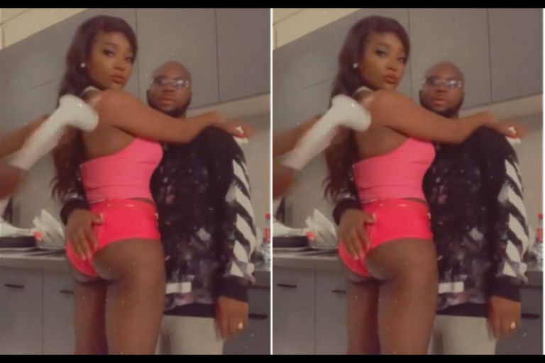 VIDEO: Efya Causes A Massive Stir After Given Her Raw B*tts To King Promise To Mash It