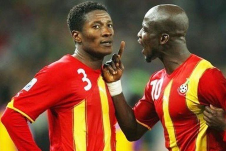 Stephen Appiah Kicks Asamoah Gyan's Name Off His List Of Top 5 Black Stars Players
