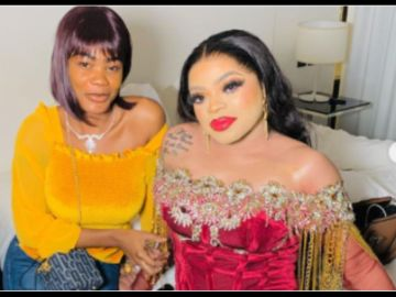 Ivorian Woman Who Used To Shave Bobrisky's Chest For Him To Look Like A Real Woman On Social Media Exposes Him