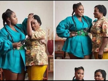 Lydia Forson Rains Internet Curses On A Fan Who Claimed Her Mother Doesn't Deserve To Be Celebrated On Mother's Day