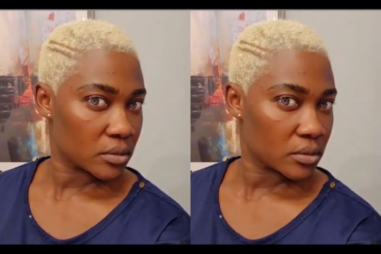 VIDEO: Mercy Johnson Goes Blonde As She Flaunts Her New Hairdo