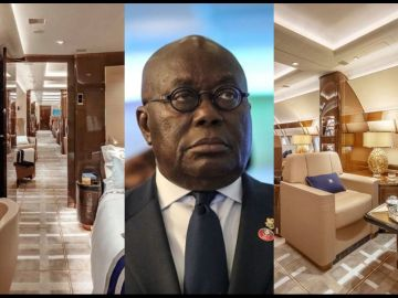 Despite Ghana Having A Presidential Jet, President Akufo-Addo Travels In A Chartered Top-of-the-range Luxury Aircraft That Costs About £15,000 An Hour