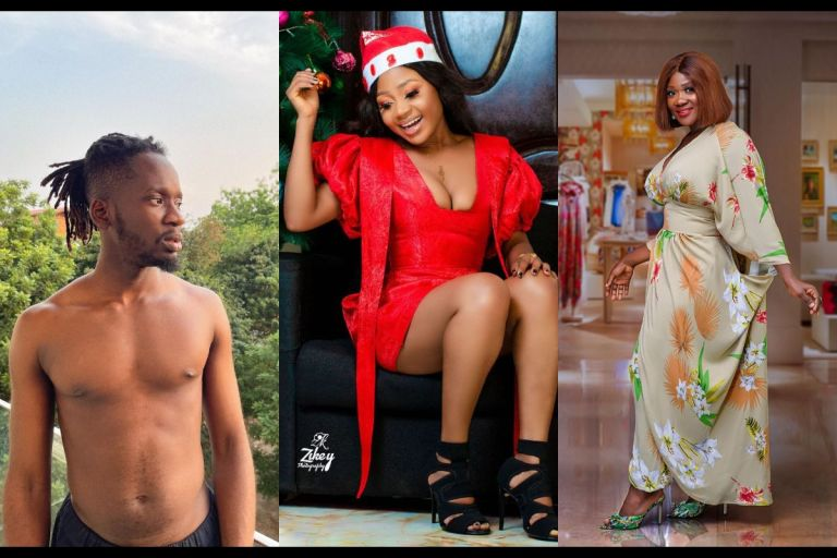 Akuapem Poloo Shares Screenshots Of Messages Sent To Her By Mercy Johnson And Mr Eazi While In Prison