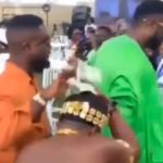 VIDEO: 'Stingy' Sarkodie Splashes About 4 Cedi Notes On Dancers During An Event