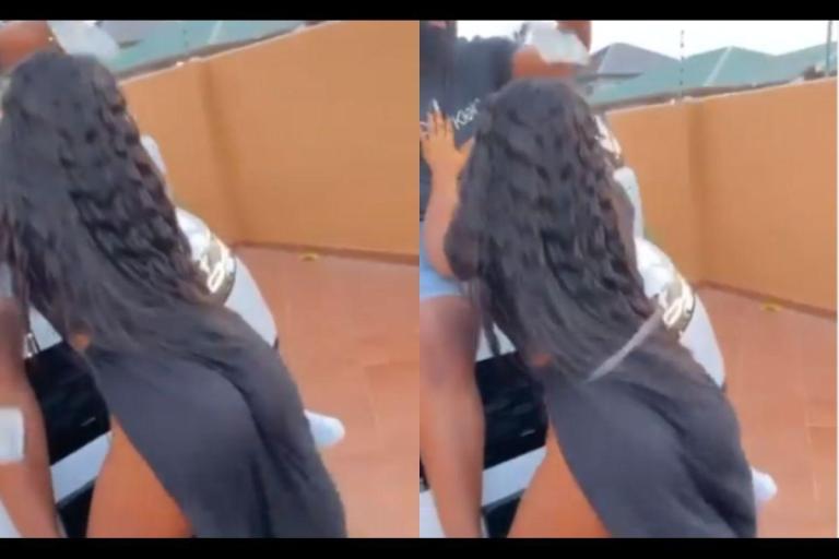 VIDEO: Zylofon Media's Signee, Tisha's 'Boyfriend' Splashes Dollar Bills On Her Raw B*tts