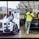 VIDEOS: Davido Buys Royce Rolls, Shatta Wale 'Borrows' Royce Rolls - Now Tell Me Who's The Real Don?