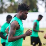 PHOTOS: Thomas Partey Returns To Feature In Ghana-Ivory Coast Friendly Match After He Was Reportedly Sacked From Black Stars Camp