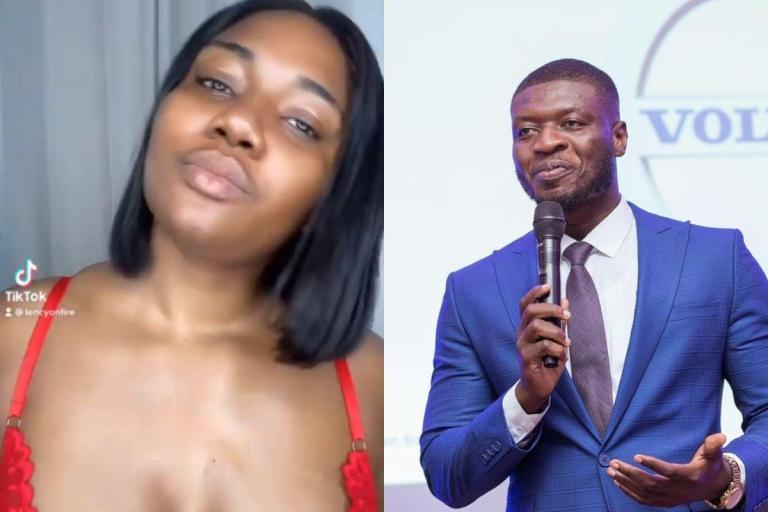 VIDEO: Abena Korkor Updates List Of Men Who've Fvcked Her - Joy FM's Lexis Bill Makes The List