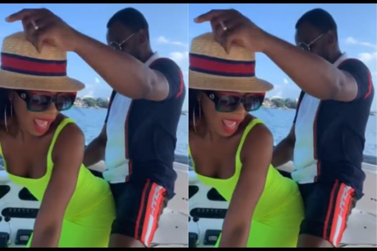 VIDEO: Only God Can Bless You For How You Make Me Feel - Becca Says As She Shakes Her B*tts For Her Husband, Tobi Sanni