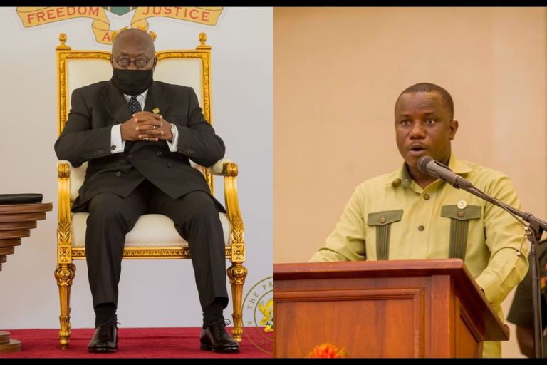 Akufo-Addo Rented £15k An Hour Top-of-the-range Private Jet Because He Can't Shower In Ghana's Presidential Jet - Defence Minister Reveals