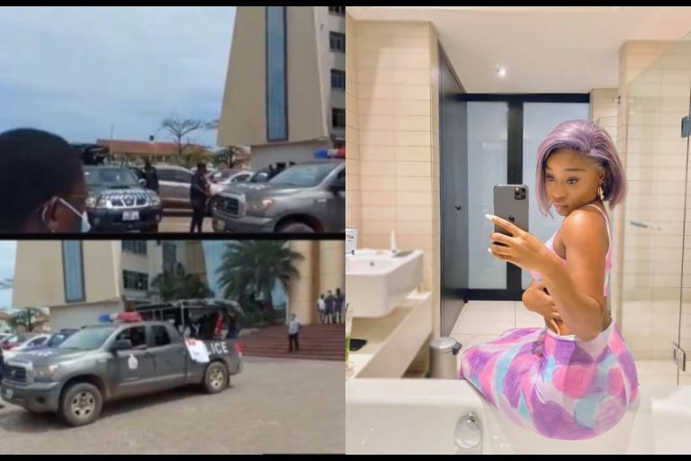 JUST IN: Efia Odo Arrested Over #FixTheCountry Demonstration - VIDEO