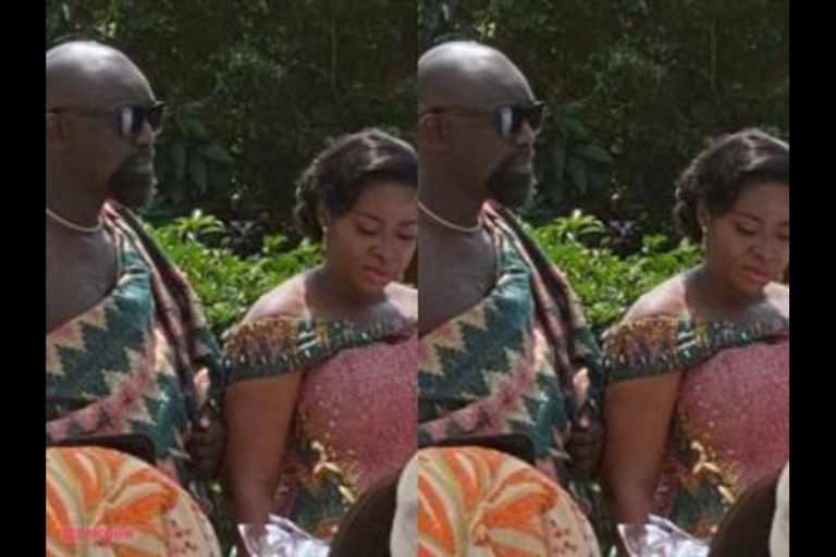 PHOTOS: Actress Portia Asare Finds Love Again As She Marries In A Colourful Traditional Ceremony