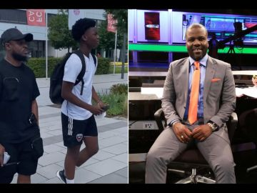 VIDEO: Becca Excited As Sammy Kuffour's Influence Gets Her Stepson Into Bayern Munich Academy