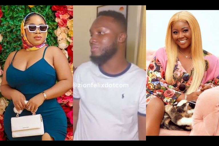 'Moesha Burnt Over Ghc50,000 To Ashes Because Her Pastor Claimed It's Money From The Devil' - Moesha's Brother Tells Salma Mumin In Alleged Phone Call Recording