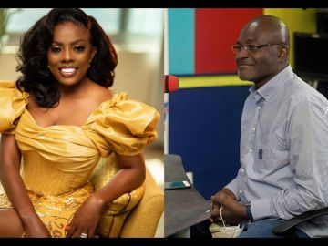 Nana Aba Anamoah Promotes An Online Petition To Get Kennedy Agyapong Banned From Entering The UK