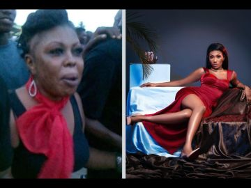 """VIDEO: Wendy Shay Throws A Direct Jab At Afia Schwar After Tagging Her As """"Talentless"""" And Jamming To Her Song At An Event"""