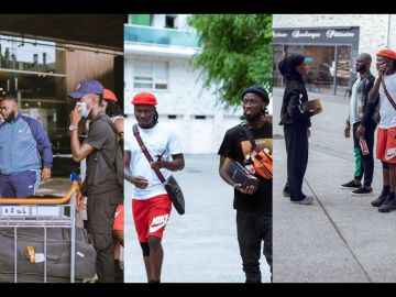 VIDEO: 'All Expenses On Me' - Stonebwoy Brags About Flying His Entire Team To France