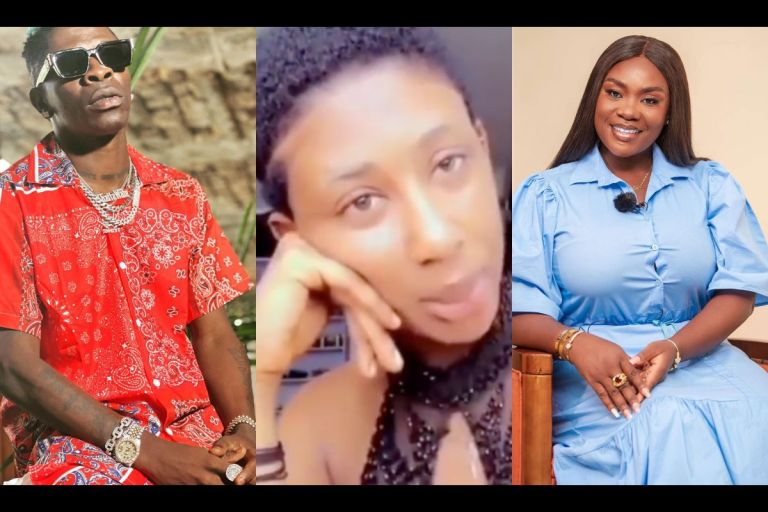 VIDEO: Stop Hiding, Come Out And Explain To Ghanaians Why You Allowed Yourself To Chopped By Shatta Wale - Young Lady Boldly Calls Out Emelia Brobbey