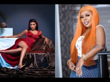 Afia Schwar Hits Back At Wendy Shay - Says She's A Failure And A Drug Addict