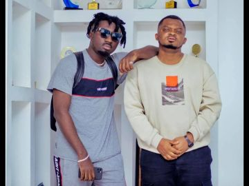 Amerado's Manager Subtly Reacts To Obibino's 'Carcass' Diss Track To His Artiste