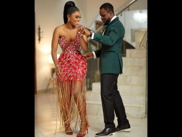 Becca's Husband, Tobi Sanni, Surprises Her With A Trip To Paris For Her Birthday And Their 3rd Marriage Anniversary