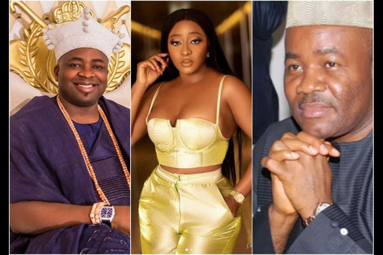 Ini Edo Finally Breaks Silence Over Accusations That She's Sleeping With Akpabio And King Of Elegushi