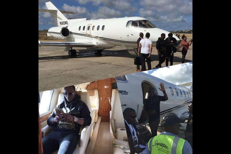 Prophet Kofi Danso Private Jet