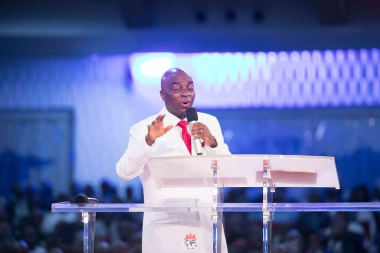 Bishop David Oyedepo Reveals Why He Always Wears White Suit