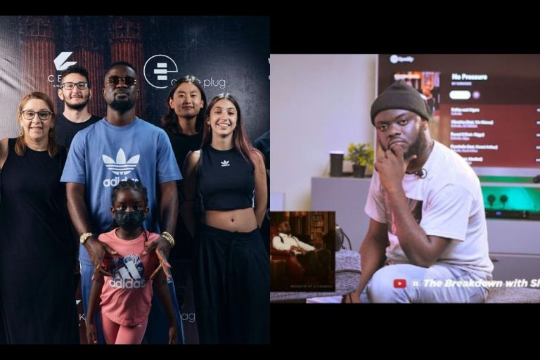 VIDEO: I Don't Know Him - Sarkodie Denies Knowing Kwadwo Sheldon Like Peter Denied Jesus Christ