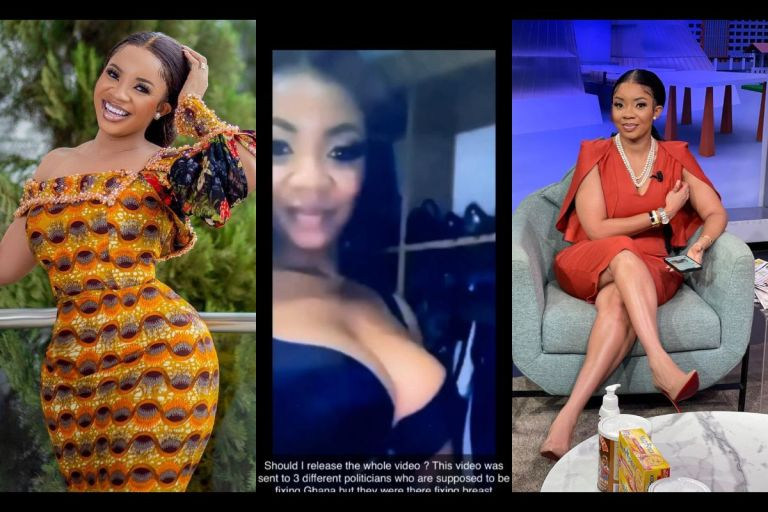 Serwaa Amihere's S*xtape Becomes A 'Scarce Commodity' On The Internet As Ghanaians Troop To Google In Search Of It