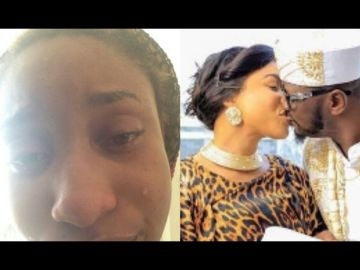 Tonto Dikeh Speaks On Allegations That Her New Lover, Prince Kpokpogri, Cheated On Her With A Side chick