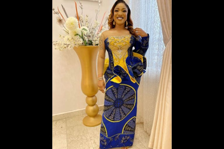 """""""There Is A Blessing That Comes With Humbling Yourself To Do God's Work"""" - Tonto Dikeh"""