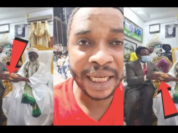 VIDEO: Twene Jonas Blasts Chief Imam For Donating Ghc50,000 For The Building Of The National Cathedral